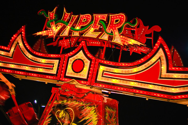 Viper Ride at Fair